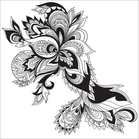 disegni cachemire: Disegno di Paisley. Elemento di vettore.
