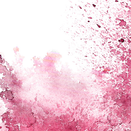 Abstract watercolor background texture. Watersplash with purple paint. Stockfoto
