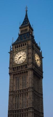 The clock tower housing big ben