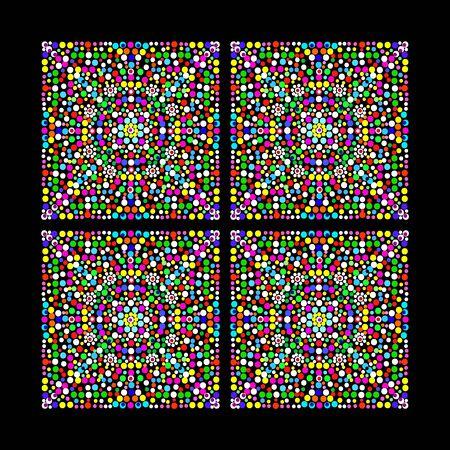 mosaic: Mosaic. Illustration