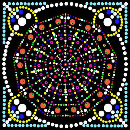 mosaic: Mosaic. Vector