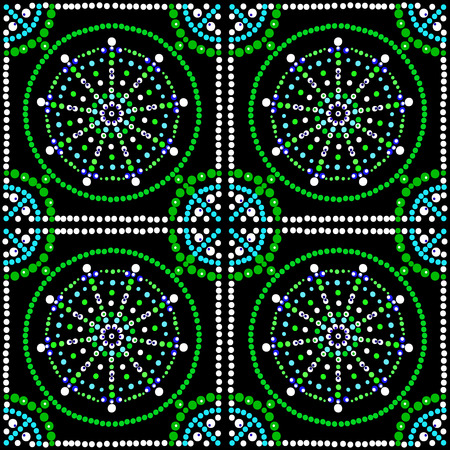 mosaic: Mosaic vector.