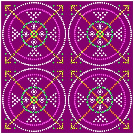 vector image: Vector image. Mosaic.