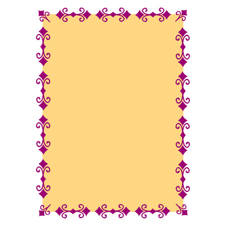 disign: Decorative frame. Vector.