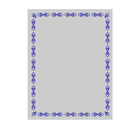 disign: Decorative frame. Vertor.