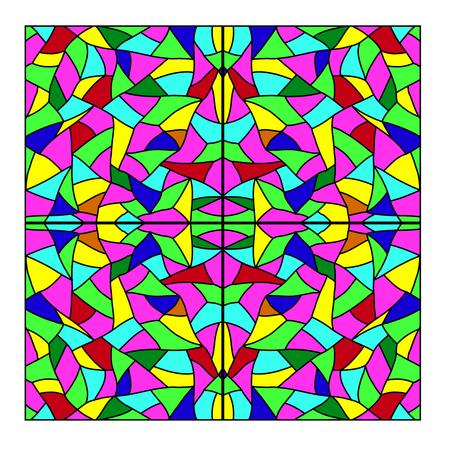mosaic abstract: Mosaic abstract. Vector. Illustration