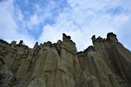 natural volcanic formation kula fairy chimneys, kuladokya