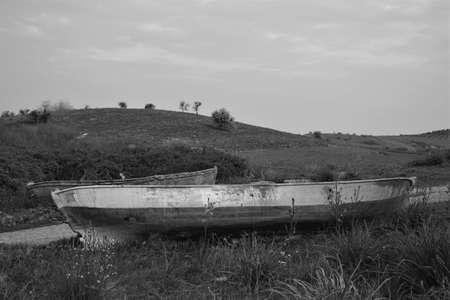 views and boats from apoleont lake of bursa