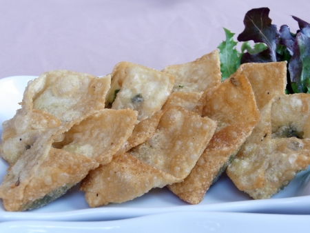 Crispy wonton                                       photo
