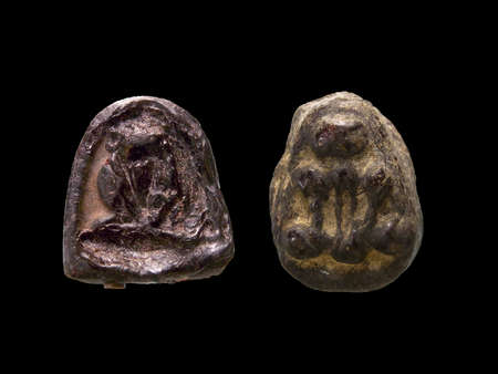 small group of objects: amulet