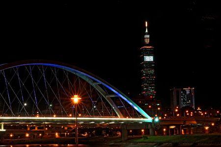 101 edificios, Taipei, Taiwán, el primer edificio alto del mundo Foto de archivo - 5505737