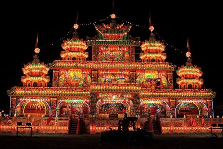 conducted: The sacrificial offering died the human, conducted sacrificial offering ceremony in taiwan