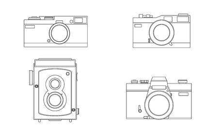 slr: Vector film camera