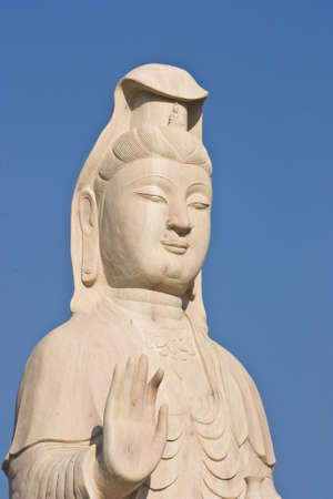 engrave idol by stone at country park Thailand