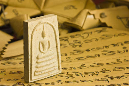 small Buddha image amulet of some one