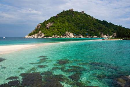 clear water at nang yuan island south of thailand Stock Photo