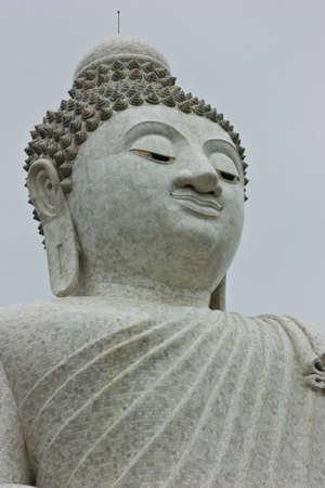 marble Buddha image Stock Photo