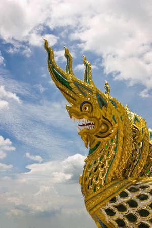 serpent head pattern by Thai style