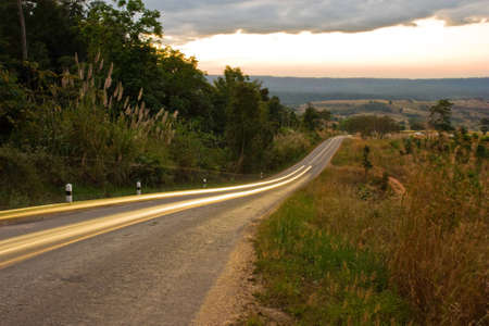 lighting on road