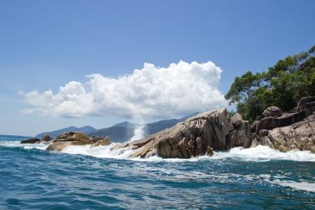 sunny day at southern Thailand sea Stock Photo