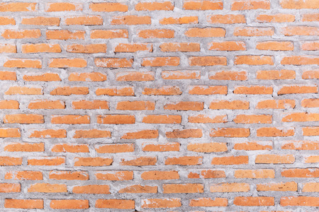 Brick wall texture background for interior exterior decoration and industrial construction concept design.