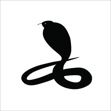 Snake icon. Vector Illustration