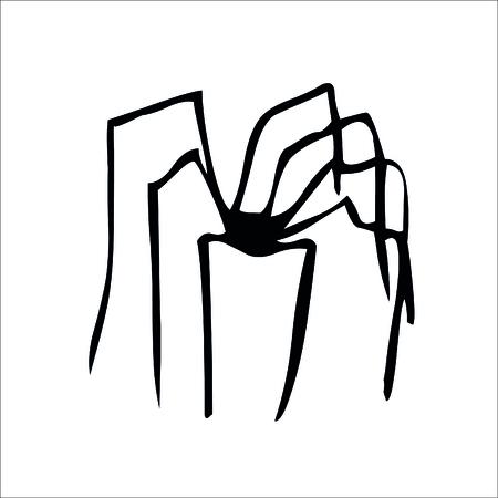 Spider icon. Vector Illustration