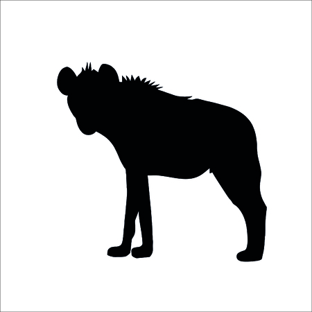 Afrika animal icon. Vector Illustration