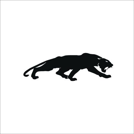 Panther icon. Vector Illustration Illustration