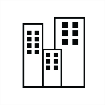 Multi-storey building icon