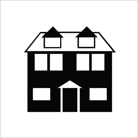 Building icon. House