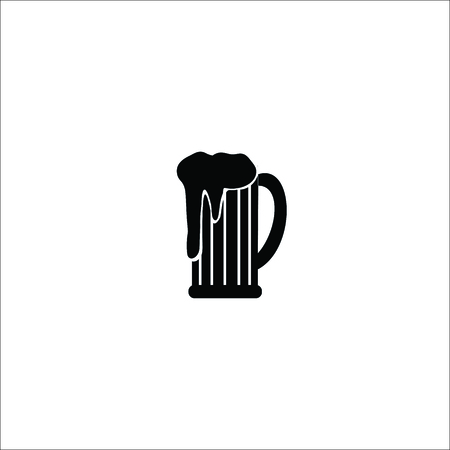 Glass of beer icon Vectores
