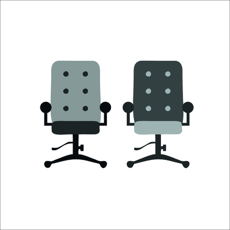 Office chair icon. Vector illustration
