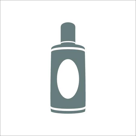 Bottle icon. Vector Illustration