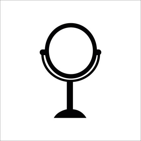 Mirror icon. Vector Illustration