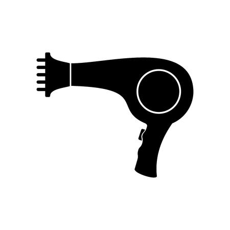 Hairdryer icon. Vector Illustration