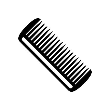 Hairbrush icon. Vector Illustration
