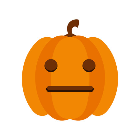 Haloween smile icon
