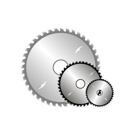 Circular saw blades icon
