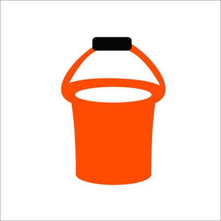 Bucket icon illustration