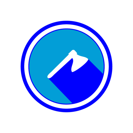 Axe icon.Vector Illustration