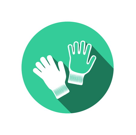 Gloves icon. Vector Illustration