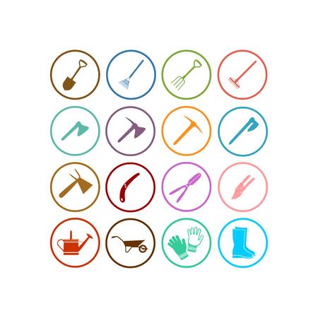 Tools icon. Flat vector icon set