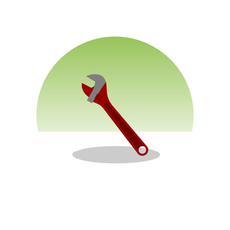 Wrench icon. Vector Illustration 向量圖像