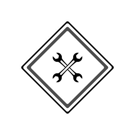 Wrench icon. Vector Illustration 일러스트