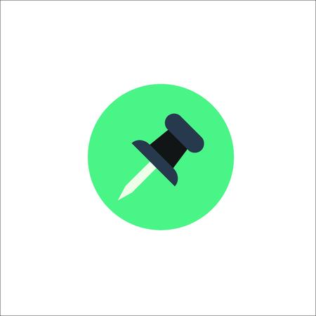 Icône de punaise Vecteurs