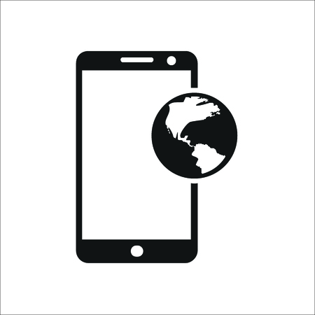 Smartphone icon. Vector Illustration