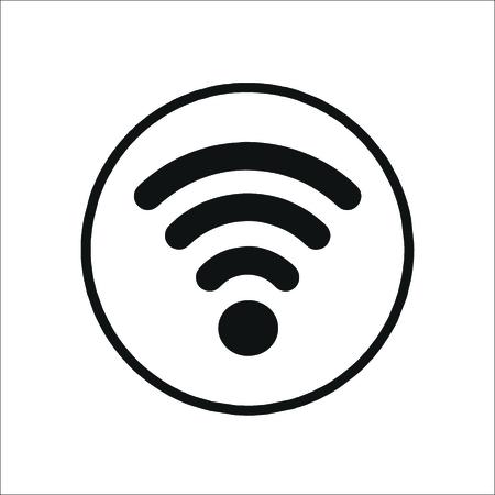 Wi fi icon. Vector Illustration
