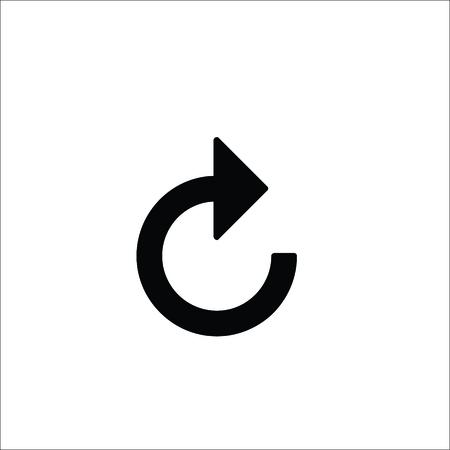 Reload icon. Vector Illustration