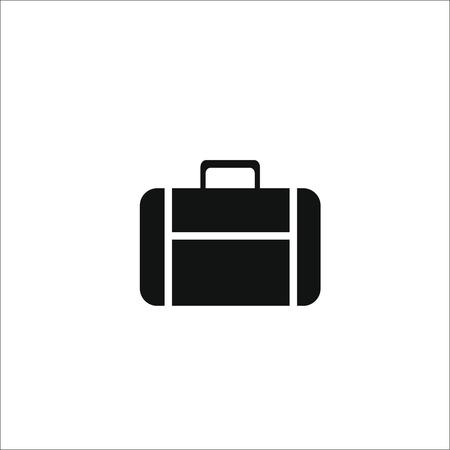 Suitcase bag icon. Vector illustration